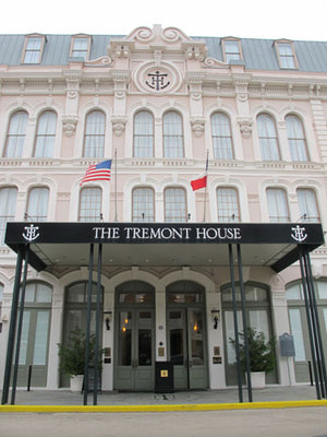 Tremont Hotel Galveston Texas Haunted History